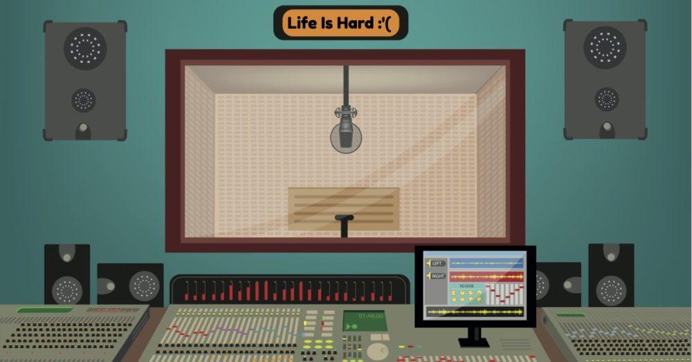 Flat Studio 1 facebook_life is hard
