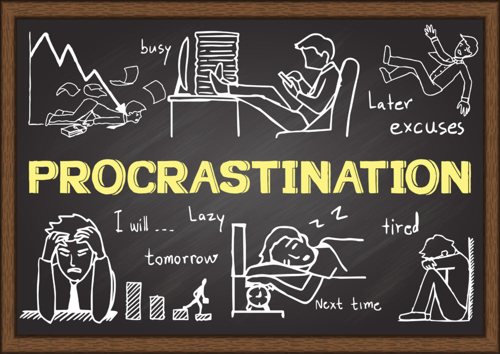 How To Stop Procrastinating. Now