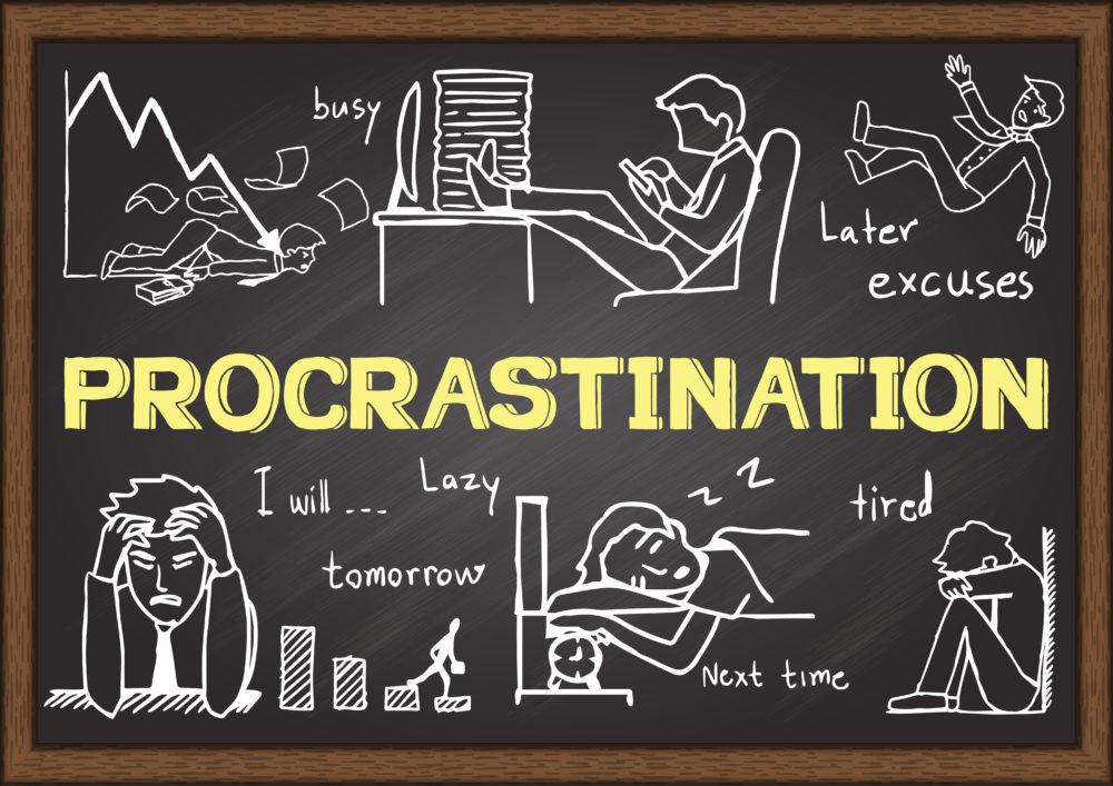 How To Stop Procrastinating. Now